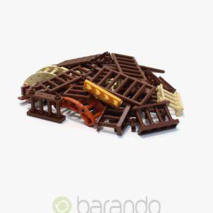 30 LEGO Zaun braun gemischt Fancy kaufen