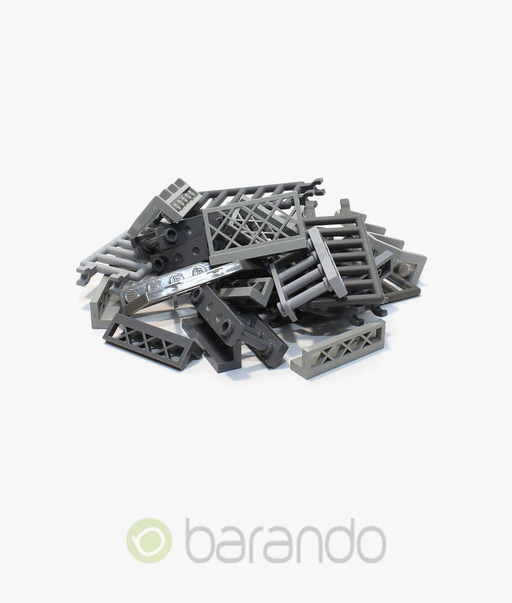 30 LEGO Zaun grau gemischt Fancy kaufen