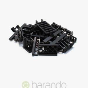 30 LEGO Zaun schwarz gemischt Fancy kaufen