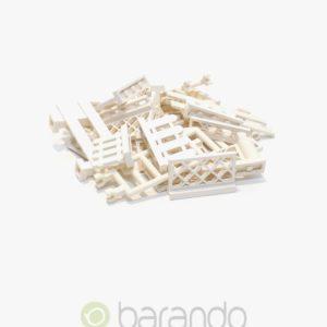 30 LEGO Zaun weiß gemischt Fancy kaufen