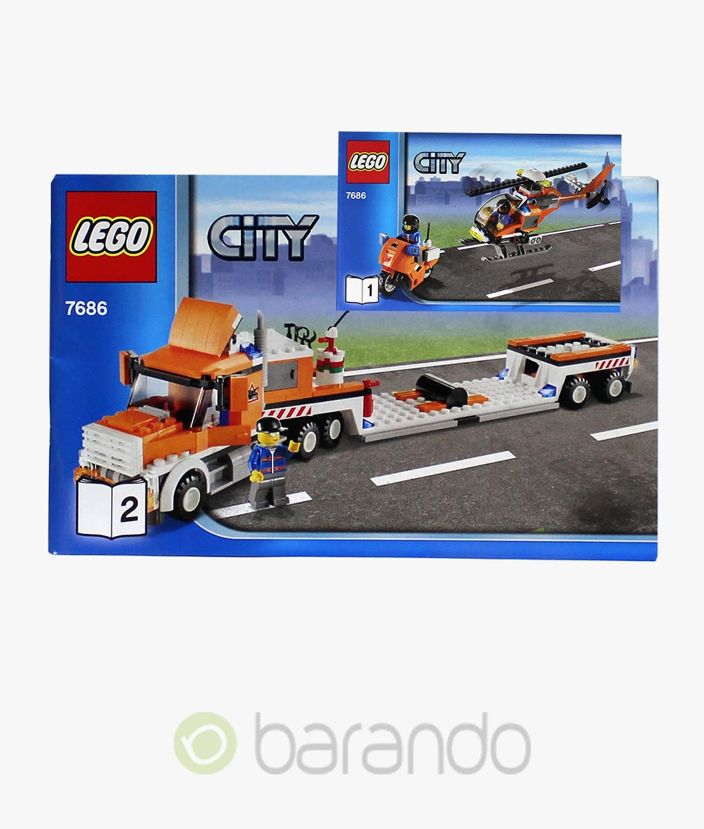 LEGO City 7686 Helikopter Transporter Set kaufen