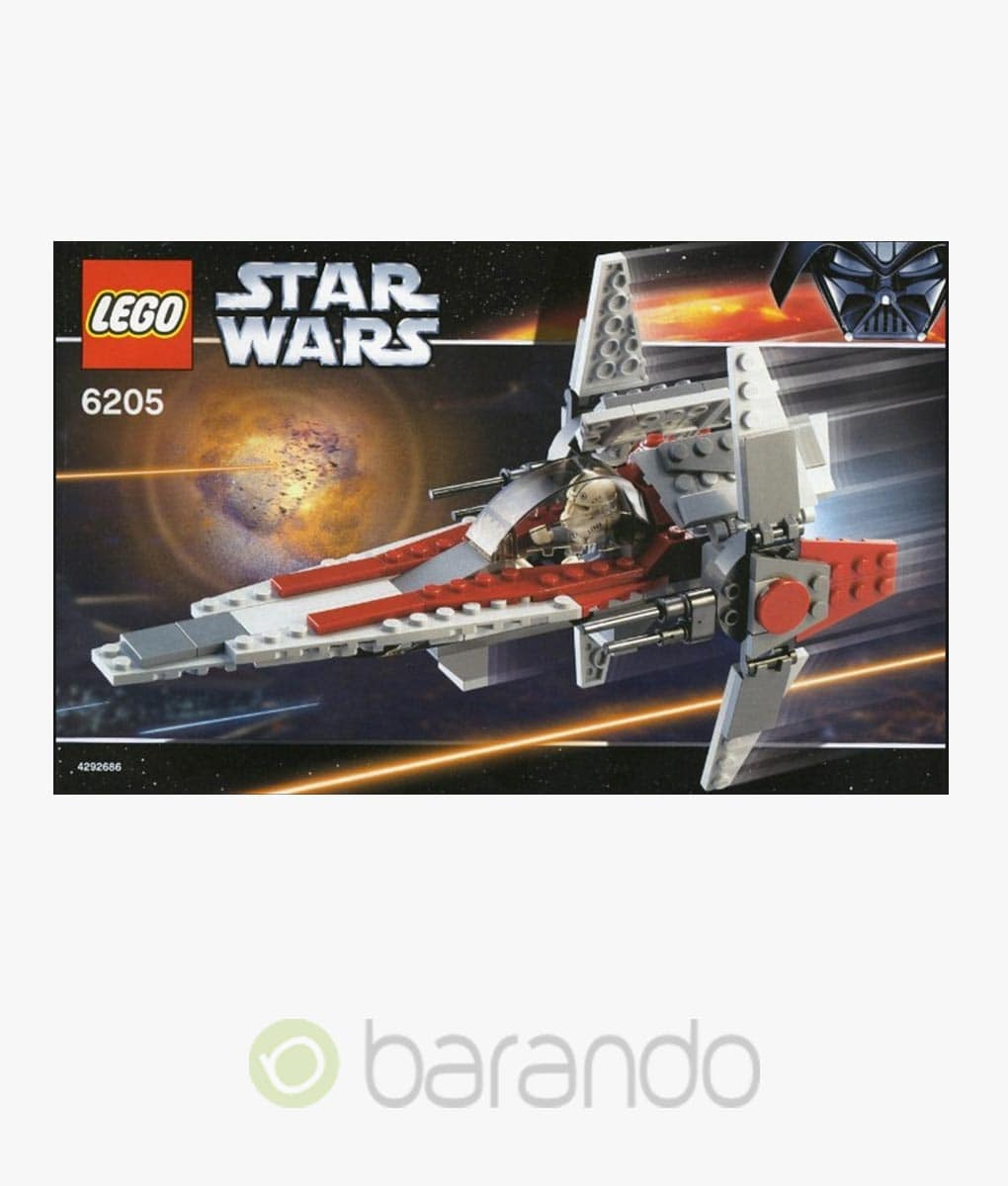 LEGO Star Wars 6205 V-Wing Fighter Set