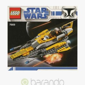 LEGO Star Wars 7669 Anakins Starfighter Set