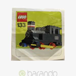 LEGO Train 133 Dampf Lokomotive Eisenbahn Set