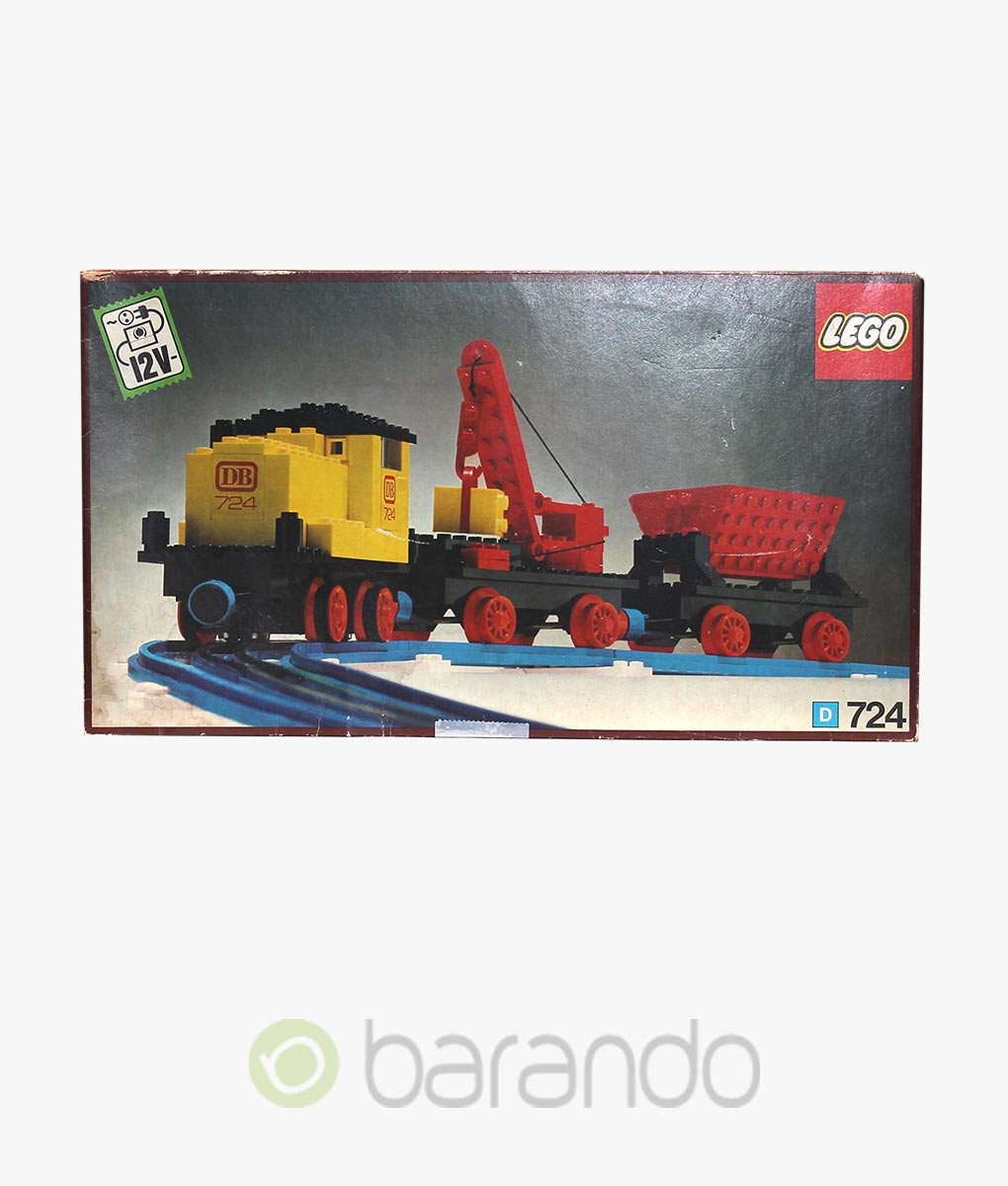 LEGO Train 724 Diesel Lokomotive Eisenbahn Set