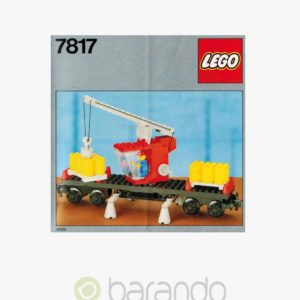 LEGO Train 7817 Kranwagen Eisenbahn Set
