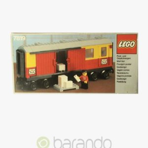 LEGO Train 7819 Postwaggon Eisenbahn Set