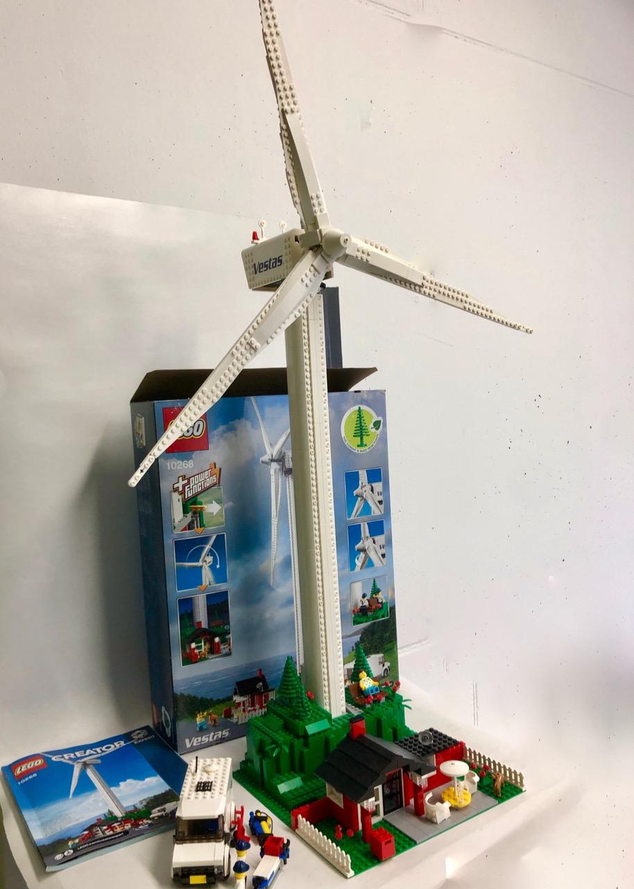 Lego Wind Turbine 10268