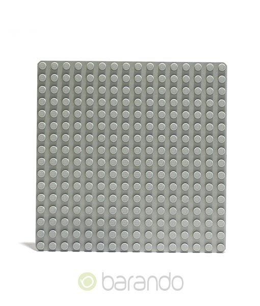 Lego Platte 3867 hellgrau Grundplatte 16x16 Noppen