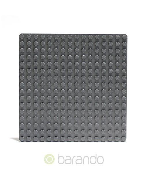 Lego Platte 3867 dunkelgrau Grundplatte 16x16 Noppen