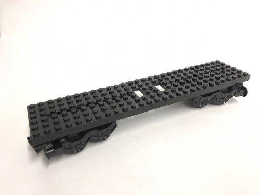 LEGO Eisenbahn Waggon 4093b Set - schwarz