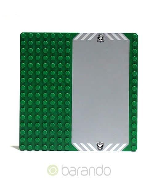 Lego Platte 30225pb01 Auffahrt Grundplatte 16x16 Noppen