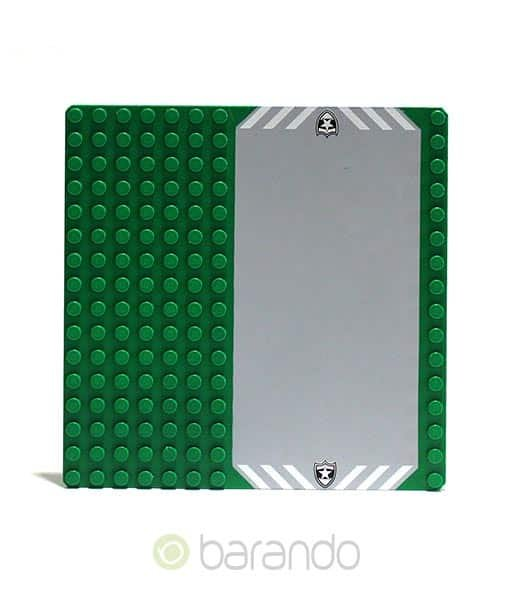LEGO Platte 30225pb01 Auffahrt - Grundplatte