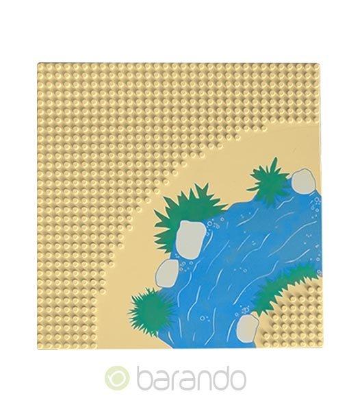 Lego Platte 2359px1 Wüste Grundplatte beige 32x32