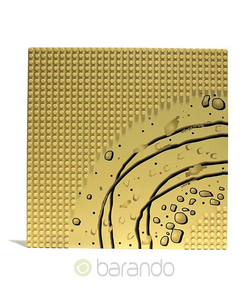 Lego Platte 2359px2 Wüste Grundplatte beige 32x32