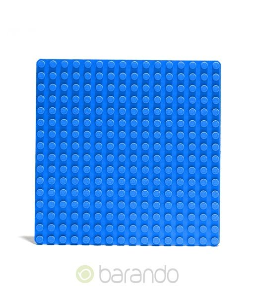 Lego Platte 3867 blau Grundplatte 16x16 Noppen