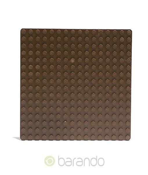 Lego Platte 3867 braun Grundplatte 16x16 Noppen