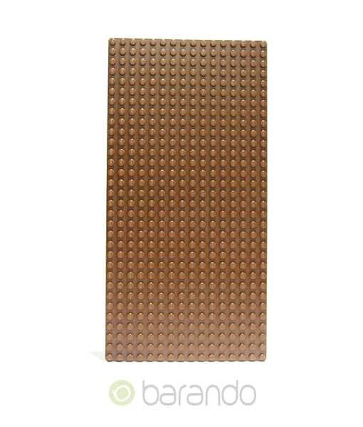 LEGO Platte 3857 braun - Grundplatte
