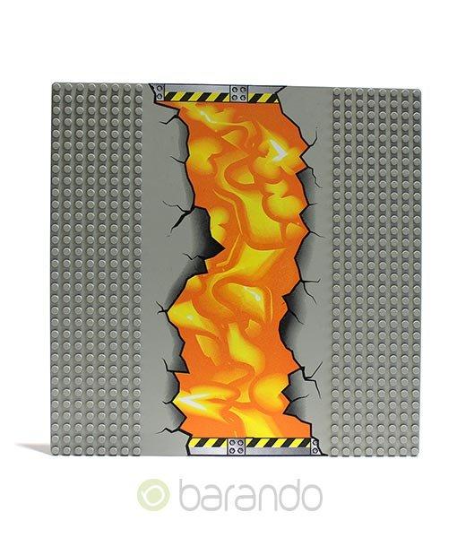 Lego Platte 30279px1 Lava Grundplatte Movie 32x32