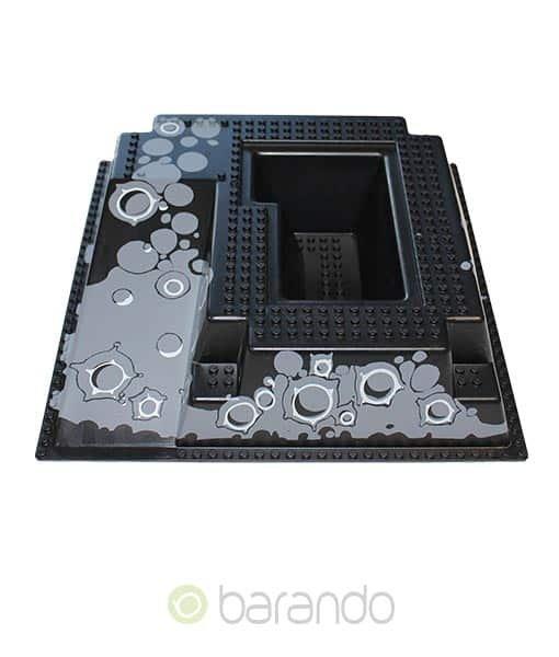 LEGO 3D Platte 2552px2 - Mondlandschaft
