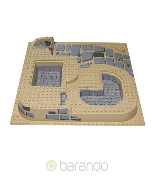 LEGO 3D Platte 6092pb03 - Ägypten