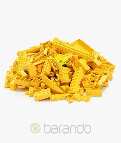 LEGO Steine gelb - Kiloware