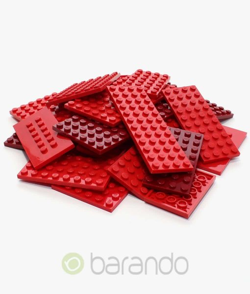 Lego Bauplatten rot gemischt kaufen