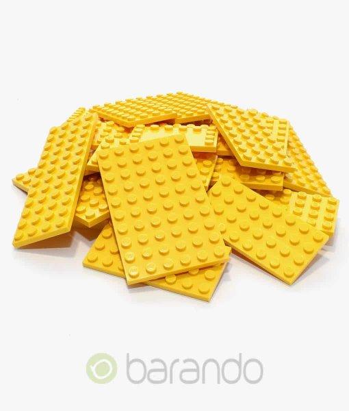 25 LEGO Bauplatten gelb - gemischt