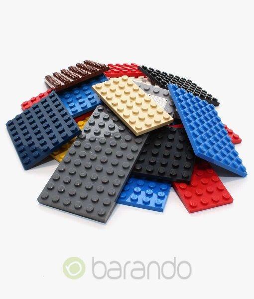 25 Lego Bauplatten gemischt alle Farben