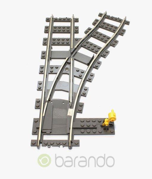 lego eisenbahn weiche 2859 rechts gebrauchte 9v schiene