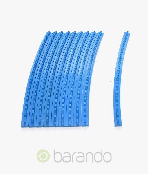 10x lego eisenbahn kurve 3229 blau