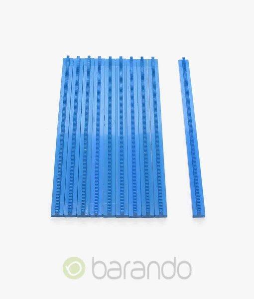 10x lego eisenbahn gerade 3228 blau