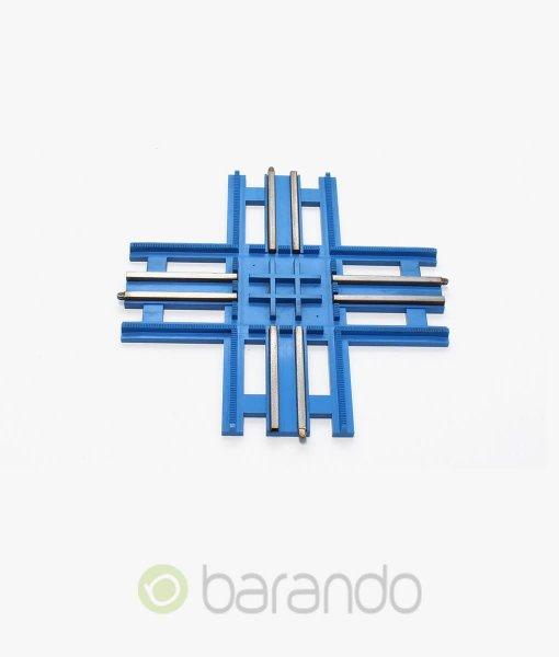 lego eisenbahn kreuzung 3232 Gleis blau