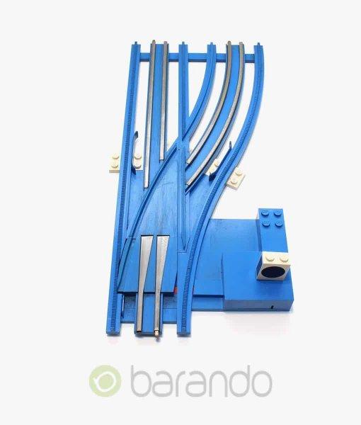 lego eisenbahn weiche sw12vrightM blau gebraucht