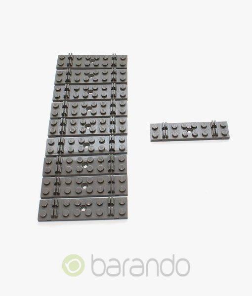lego eisenbahn schwelle 4166 grau gebraucht