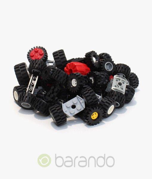 LEGO-Reifen-je-Achse-Rad-Räder