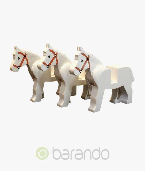 LEGO 3 Pferde 4493c01pb04 weiß kaufen