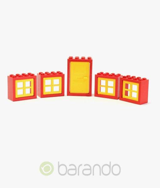 LEGO Fenster & Türen rot/gelb kaufen