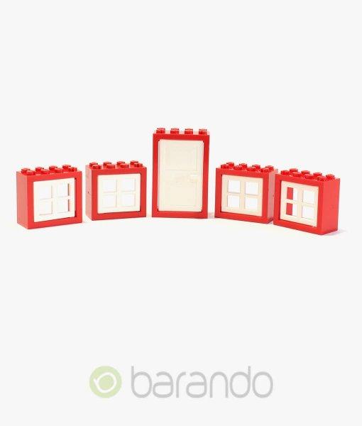 LEGO Fenster & Türen rot/weiß kaufen