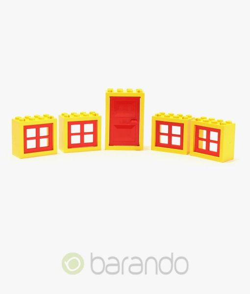 LEGO Fenster & Türen gelb/rot kaufen