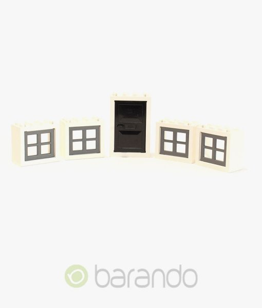 lego fenster t ren wei schwarz online kaufen barando. Black Bedroom Furniture Sets. Home Design Ideas