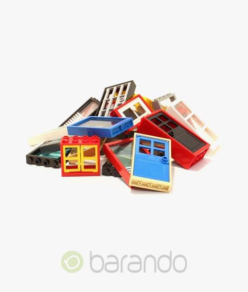25-x-Lego-Fenster-Türen-gemischt