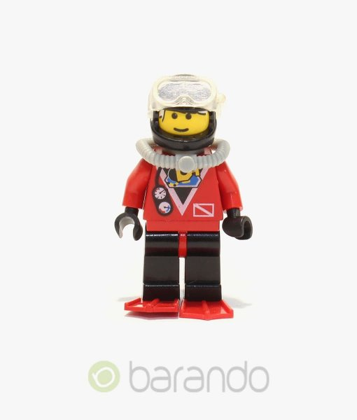 LEGO Red Diver 2 div019 City