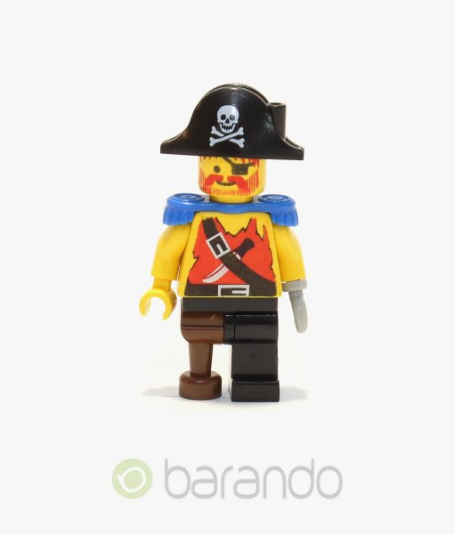 LEGO Pirate Shirt with Knife pi023