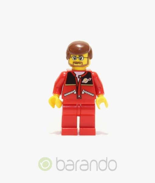 LEGO Red Jacket with Zipper trn126