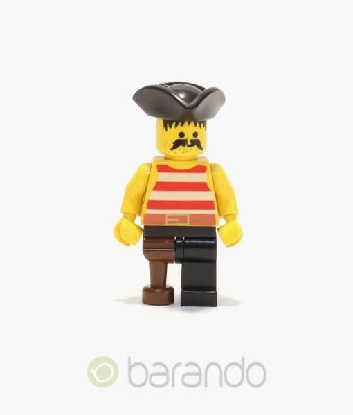 LEGO Pirate Red-White Shirt pi038