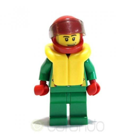 LEGO Octan Green Jacket cty0001 City