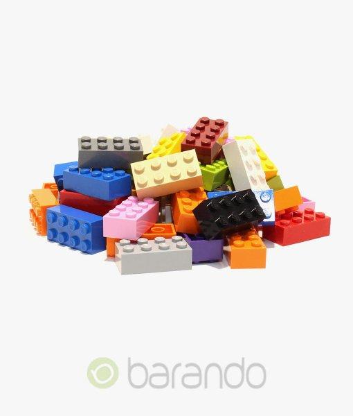 LEGO Steine 2x4 gemischt - 3001