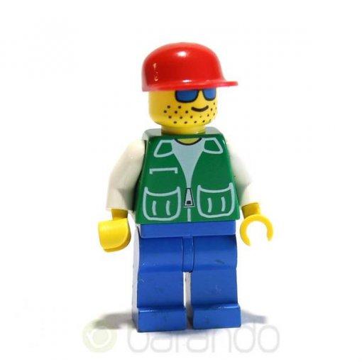 LEGO Mann pck001 - Jacket Green City