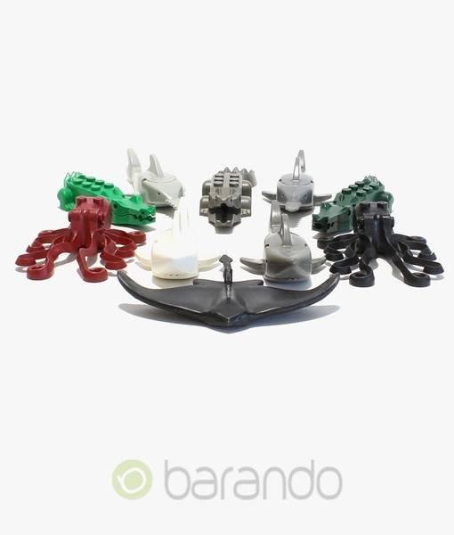 5 LEGO Meerestiere gemischt